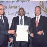 Forum régional de la sécurité sociale pour l'Afrique : L'IPS-CGRAE, triplement primée