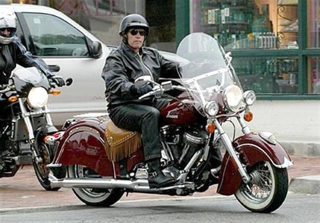 Les grandes stars d'Hollywood préfèrent la moto