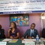 JOURNÉES PORTES OUVERTES DES TOAST MASTERS DE COTE D'IVOIRE (JPOT 2015).