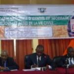 Conférence de presse de la Direction Générale de l'Administration du Territoire (DGAT) et de l'Office Nationale de l'Identification (ONI)