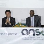 5ème édition de l'Africa IT&Telecom Forum : Le Président d'i-conférences et le Directeur Général de l'ANSUT face à la presse