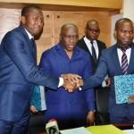 Le Développement durable en côte d'ivoire: signature de convention de partenariat entre le MINESUDD/DGDD et OPES HOLDING SA