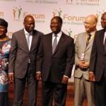 Cérémonie d'ouverture du Premier Forum de la Diaspora Ivoirienne