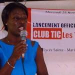 Lancement officiel du programme  Club TIC : les TIC pour Tous