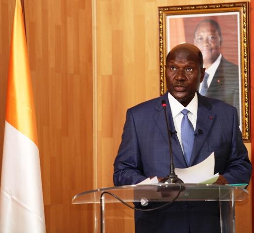 Le Vice-Président Daniel Kablan Duncan samedi à la cérémonie d'Hommage des Femmes RHDP au Président de la République :« Il a consacré sa carrière politique à la recherche du bien-être et du bonheur des ivoiriens. »