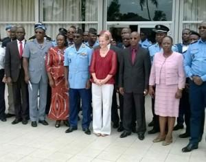 Présentation et réception du logiciel de gestion des ressources humaines de la Police nationale de Cote d'ivoire