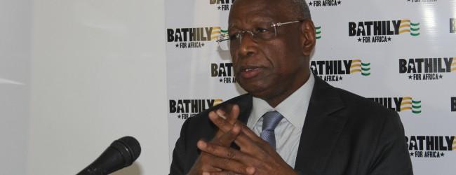 Présidence de la commission de l'union africaine : le Pr. Abdoulaye Bathily du Sénégal présente  sa vision pour l'UA à la Côte d'ivoire