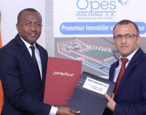 Logements /Opes Holding signe un protocole d'accord de Construction de 50000 logements avec le Groupe Turc IKDAM TURC CI.SA