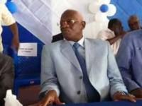 Cérémonie d'hommage au Président  Aboudrahamane Sangaré  Président par intérim du Front Populaire Ivoirien (FPI)