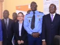 Cérémonie de remise officielle du Réseau d'Interconnexion a la police nationale de Côte d'ivoire