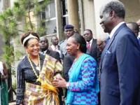 Jeux de la Francophonie : Michaëlle Jean en visite officielle en Côte d'Ivoire