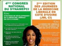 4 ième Congrès National du SYNAMEPCI et 2ième  édition de la Journée de la Médecine Libérale en Côte d'ivoire (JML-CI)