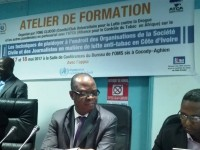 Atelier de Formation pour le plaidoyer médiatique pour la lutte Anti-tabac