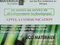 1er Colloque des Eco-Matériaux en Afrique (CEMA'2017)