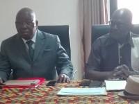 Kouassi Koffi Mathurin président de la FARECI : « la FARECI a pris l'engagement solennel de continuer avec Soro Mamadou qui conduira la nouvelle liste ''Union-Solidarité-Espoir»