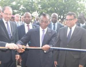 Le lycée Blaise Pascal à inauguré un gymnase ultramoderne, le jeudi 8 juin.