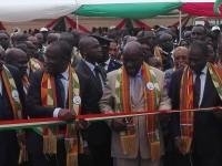 VIIIe Jeux de la Francophonie :Inauguration du Village AKWABA par le vice-président  Kablan Duncan