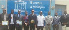 MPC (mouvement conscience positive) a honoré MR BOURGI KHODOR DG de LGI BTP et vice president de la CNPC-CI chambre nationale des promoteurs et constructeurs agréés de cote d'ivoire