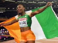 Athlétisme/Mondiaux de Londres: Ta lou et Murielle Ahouré qualifiées pour la finale du 100m en 10,87