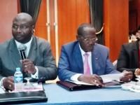 Cérémonie de lancement des travaux du comité scientifique de la quatrième édition des rencontres sectorielles dédiée au secteur de l'agriculture