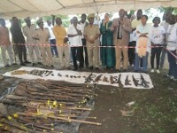 Programme d'appui a la lutte contre la prolifération et la circulation illicite des armes légères et de petit calibre et a la sécurisation communautaire: opération de collecte d'armes et munition a la préfecture de beoumi
