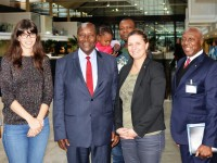 Le vice-Président de la République s'est entretenu avec le vice-Président du Groupe Airbus