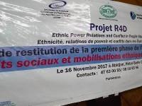 Atelier de restitution de la première phase de l'étude sur le thème : «  Conflits sociaux et mobilisations ethniques en Côte d'ivoire »