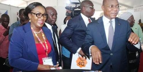 Cérémonie d'ouverture de la 4ième édition de l'Africa Web Festival