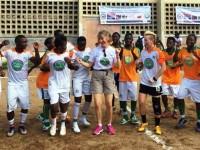 Tournée et Festival des Champions de l'Unité Nationale : Le Chargé d'Affaires Mme Katherine Brucker exhorte les jeunes Ivoiriens à être des artisans de la paix