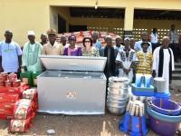 La Fondation Children Of Africa offre une cantine et des kits scolaires aux enfants de Ponvogo