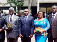 Cérémonie de Remise du Prix d'Excellence 2017  aux 2ieme et 3ième Lauréats du Ministre de l'Intérieur et de la sécurité