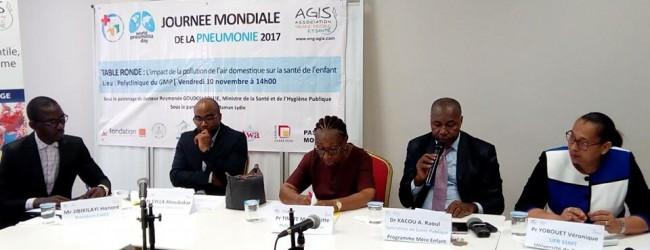 JOURNEE MONDIALE DE LA PNEUMONIE:UNE TABLE RONDE S'EST TENUE A ABIDJAN