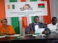 CONFÉRENCE DE PRESSE DE LA CONVERGENCE DES PEUPLES POUR LA PROMOTION DU TRAITE D'AMITIE ET DE COOPERATION IVOIRO-BURKINABE (COPTAC)