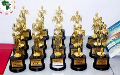 Cérémonie officielle de remise des trophées aux lauréats de l'African Startup Forum 2017.