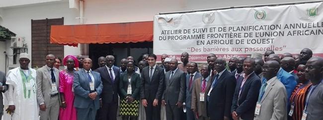 Atelier de suivi et de Planification Annuelle de l'Appui de la Coopération Allemande pour la mise en œuvre du PFUA(Programme Frontière de l'Union Africaine en Afrique de l'Ouest)