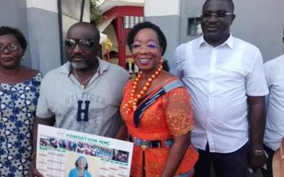 PDCI-Section Cocody : Mme le Maire Koné Colette célèbre le nouvel an avec tous les secrétaires de section.