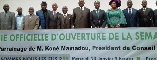 Côte d'Ivoire : les activités de la « semaine de l'avocat »ont officiellement démarré à Abidjan.