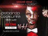 Conférence de presse du concert de Debordo Leekunfa :  « Miracle de mélodies »
