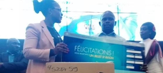 Finale et cérémonie de remise du premier prix Bénédicte Janine Kacou Diagou (BJKD) pour l'entrepreneuriat jeunes.