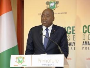 S.E.M. Amadou Gon Coulibaly : «  la version amandé de l'annexe fiscale entre en vigueur à partir du 15 février 2018 »