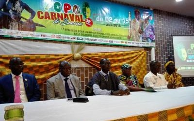 Lancement de la 38ième édition du POPO Carnaval de Bonoua ( 50 km au Sud-est d'Abidjan)