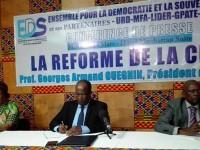 Côte d'Ivoire : EDS et ses partenaires organisent une conférence de presse