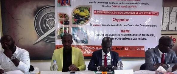 Côte d'ivoire :célébration de la Journée International des Droits des Consommateurs.