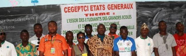 Les Etats généraux du CEGEPT CI (Collectif des Etudiants des Grandes Ecoles et Elèves de l'Enseignement Professionnel et Technique de Côte d'Ivoire)