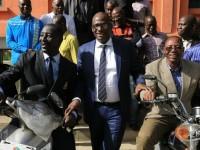 L'Union nationale des Journalistes reçoit un don en matériel roulant du Chef de l'Etat