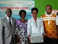 La semaine du Livre au Lycée Mamie Houphouët Faitai de Bingerville