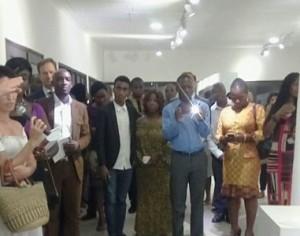 Ouverture à Abidjan de l'exposition Suite Africaine du peintre espagnol Mateo Angel Charris.