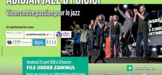 Abidjan Jazz By Bicici : FILE UNDER ZAWINUL, un concert hommage