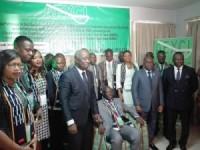 Cérémonie d'investiture officielle du Bureau de l'Association des Exportateurs de Caoutchouc naturel/fond de tasse de Côte d'ivoire (AEXCI)