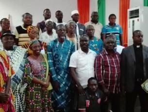 Centre d'accueil, d'information, d'orientation et d'accompagnement des migrants- Côte d'ivoire : session de sensibilisation et d'information sur les conditions de la migration régulière  et les risques de la migration irrégulière
